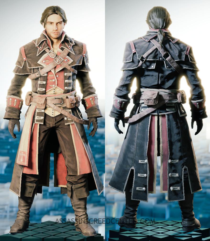 158. Atuendo del Maestro Templario Shay Cormac  Assassinu0026#39;s Creed Center