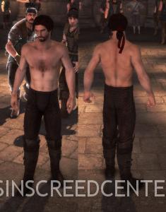 Ezio sin Camiseta