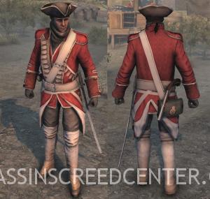 Uniforme de Casaca Roja