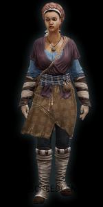 Disfraz de Sirvienta