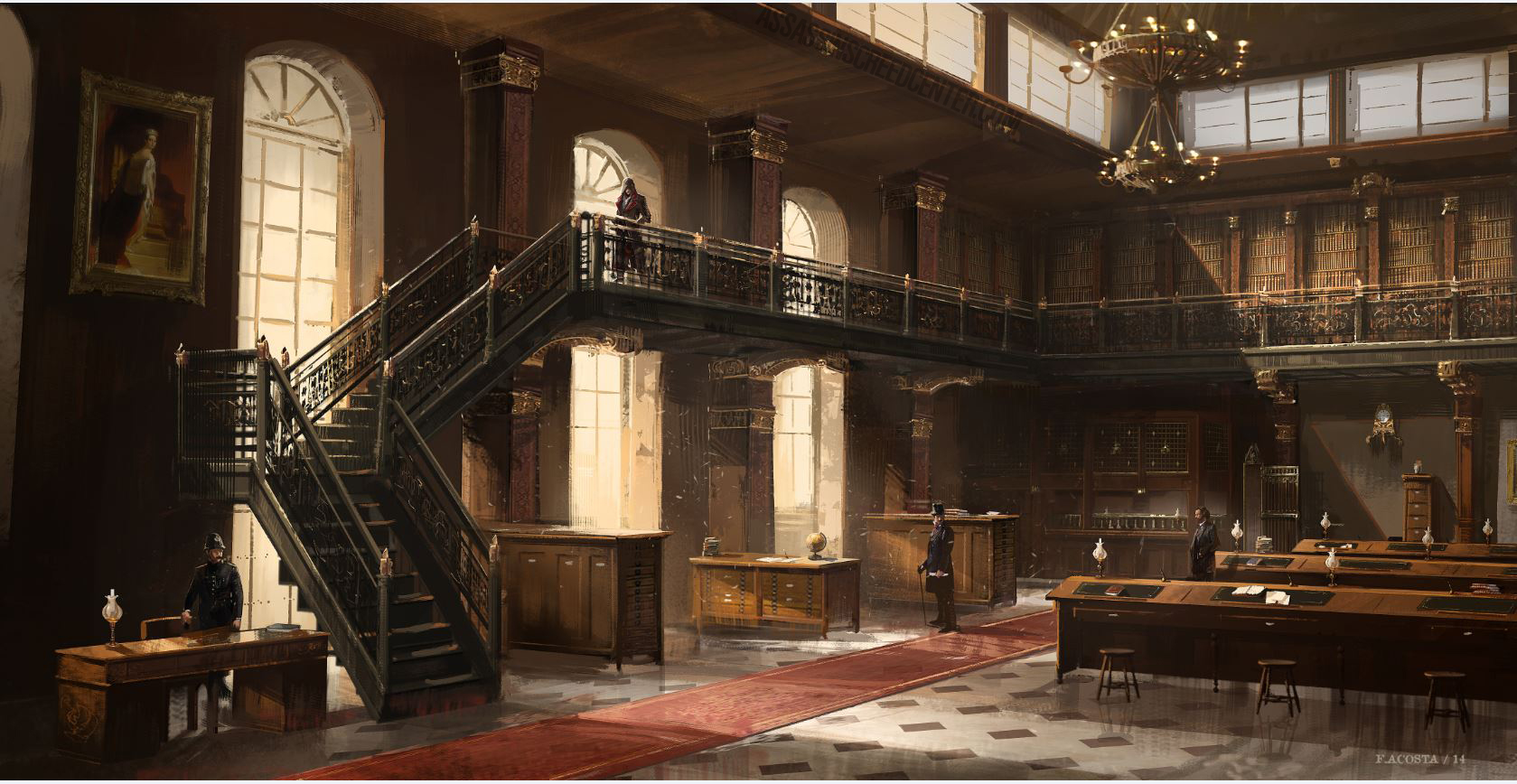 One Point Perspective Bedroom Personaliza Tu Edici 243 N Big Ben Assassin S Creed Syndicate