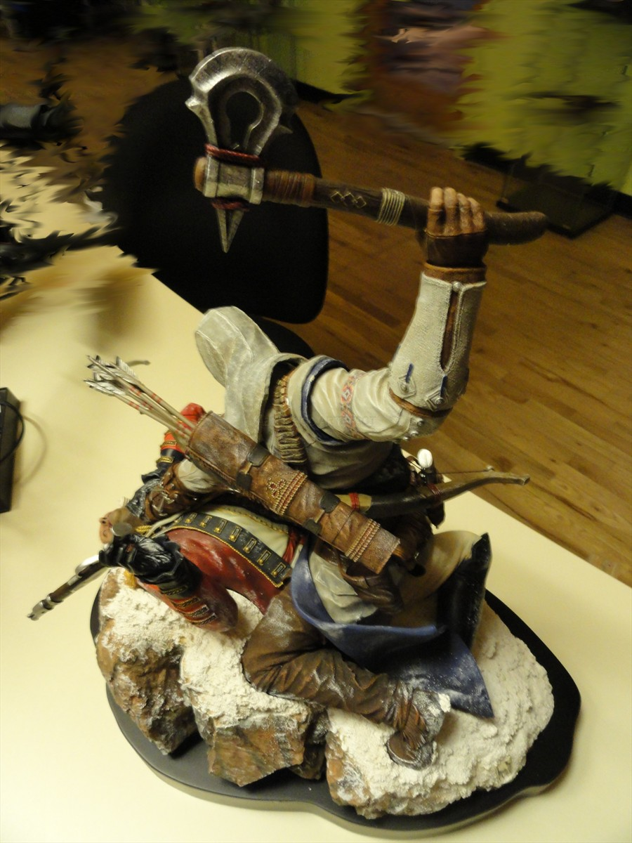AC3 Figurine Connor Assassinate 2