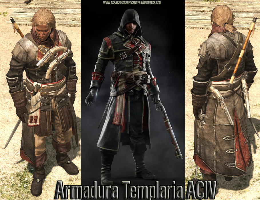 Templar Armor outfit MA