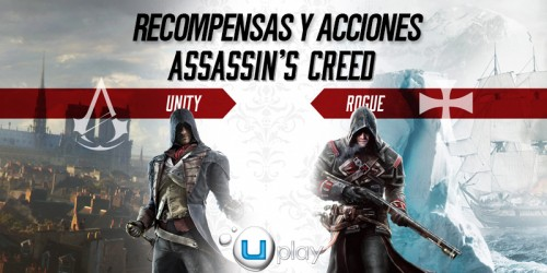 Recompensas y acciones ACUnity y ACRogue