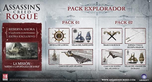 pack explorador Rogue