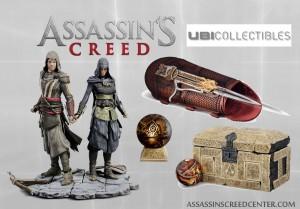 Unboxing e info ediciones coleccionista de Ubicollectibles sobre Assassin's Creed: La película