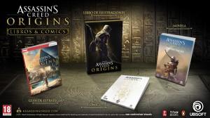 Novela, cómics, artbook y guía oficial Assassin's Creed Origins